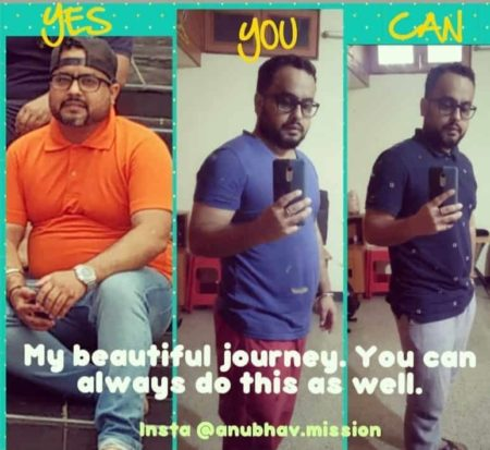 Indian Weight Loss Story Anubhav S Fat To Fit Transformation Success Story