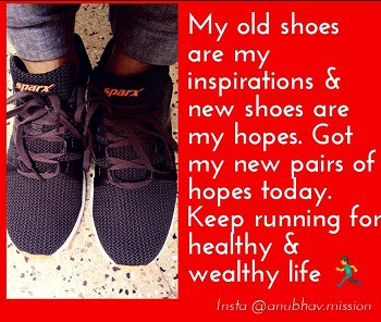 My shoes my inspirations