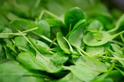vegetables for weight loss - spinach