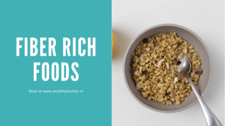 Fibre rich Indian foods