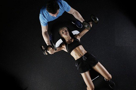 online fitness trainer