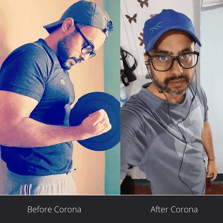 Anubhav kumar corona recovery story