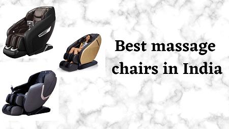 Best massage chair in India