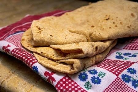 one chapati or 1 roti